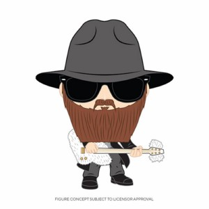 POP FIGURE ZZ TOP: BILLY GIBBONS