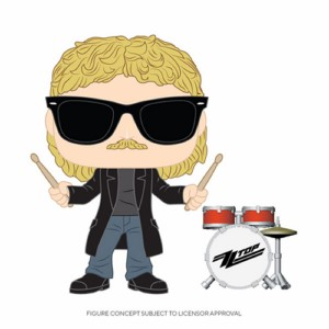 POP FIGURE ZZ TOP: FRANK BEARD