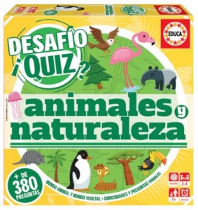 DIDACTIC QUIZ GAME ANIMALS / NATURE (SPANISH)