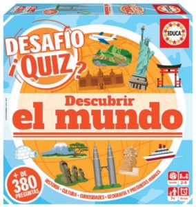 DIDACTIC QUIZ GAME DISCOVER THE WORLD (SPANISH)