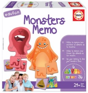 EDUCATIONAL GAME MEMO MONSTERS