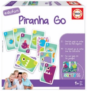 EDUCATIONAL GAME PIRANHAS GO