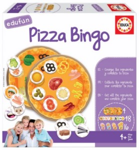 EDUCATIONAL GAME PIZZA BINGO