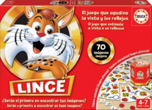 LINCE 70 PICS BOARD GAME (SPANISH)