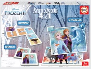 FROZEN 4IN1 SUPERPACK GAMES
