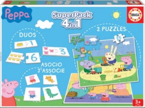 PEPPA PIG 4IN1 SUPERPACK GAMES