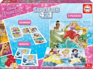 DISNEY PRINCESS 4IN1 SUPERPACK GAMES