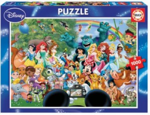 WONDERFUL DISNEY WORLD 1000 PCS PUZZLE