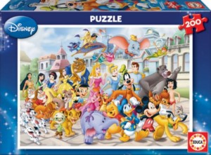 DISNEY PARADE 200 PCS PUZZLE
