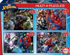 SPIDER-MAN MULTI-4 PUZZLE