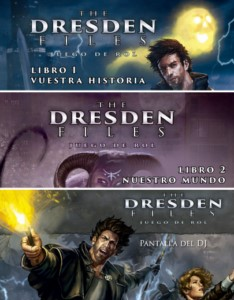 THE DRESDEN FILES PACK COMPLETO BASICO ROL (SPANISH)