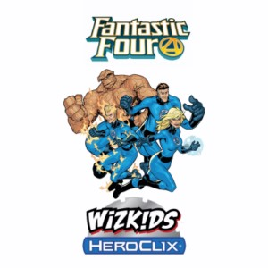 MARVEL HEROCLIX FANTASTIC FOUR SET TOKENS