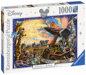 PUZZLE 1000 DISNEY THE LION KING