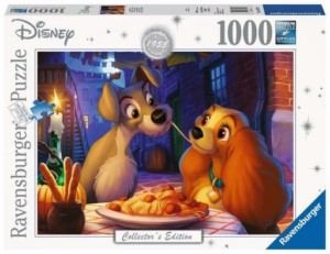 PUZZLE 1000 DISNEY LADY AND THE TRAMP