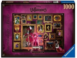 PUZZLE 1000 DISNEY VILLANOS HOOK