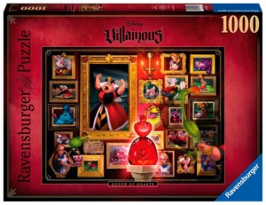PUZZLE 1000 DISNEY VILLANOS QUEEN OF HEARTS