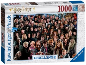 PUZZLE 1000 HARRY POTTER CHALLENGE