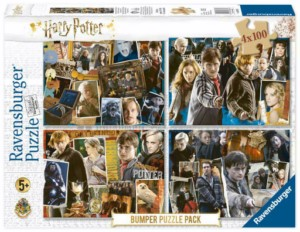 PUZZLE 4 X 100 HARRY POTTER