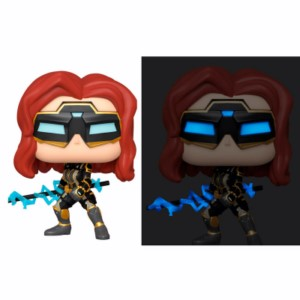 POP FIGURE BLACK WIDOW GLOW 5+1 CHASE