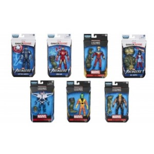 MARVEL LEGENDS GAMEVERSE HASBRO ASSORTMENT FIGURES (8)