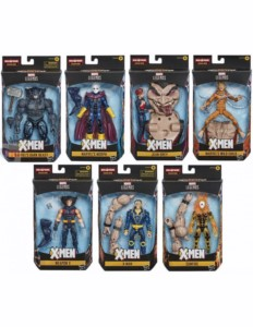 MARVEL LEGENDS X-MEN HASBRO ASSORTMENT FIGURES (8)