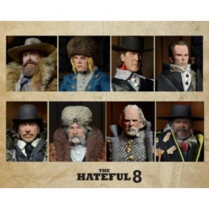 HATEFUL EIGHT LIMITED EDITION FIGURE PACK (8)