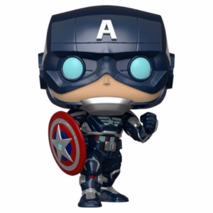 POP FIGURE AVENGERS GAME: CAPTAIN AMERICA STARK SU