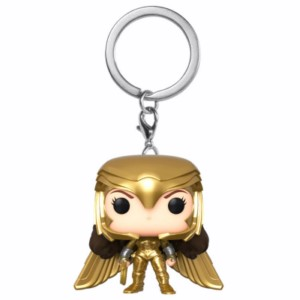 POP KEYCHAIN WONDER WOMAN 84 GOLD WING