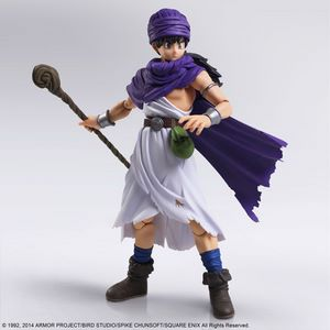 BRING ARTS DRAGON QUEST V HERO FIGURE 23 CM