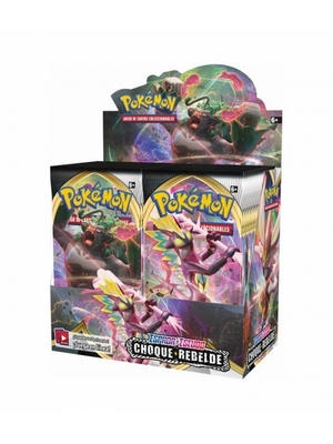 POKEMON CHOQUE REBELDE SPANISH BOOSTER BOX (36)