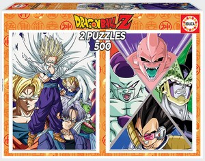 DRAGON BALL 2X500 PUZZLE