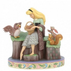 DISNEY STATUE FIGURINE SLEEPING BEAUTY 60TH ANNIVERSARY