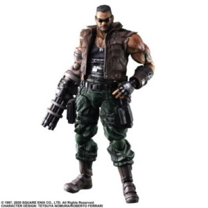 FINAL FANTASY VII REMAKE FIGURE BARRET 25 CM