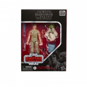 HASBRO STAR WARS BLACK SERIES LUKE & YODA