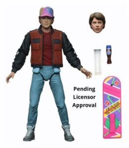 BACK TO THE FUTURE NECA FIGURE MARTY FUTURE 18 CM