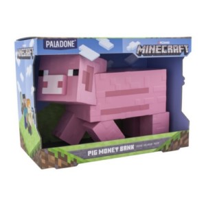 MINECRAFT PIG MONEYBANK
