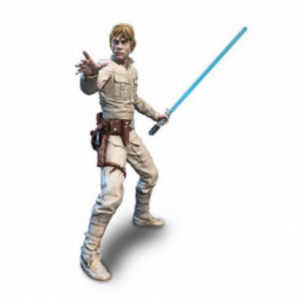HASBRO BLACK SERIES STAR WARS LUKE 18 CM