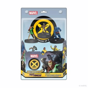 MARVEL HEROCLIX HOUSE OF X FAST FORCE