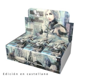 FINAL FANTASY OPUS 12 DISPLAY SPANISH CASE (36X6)