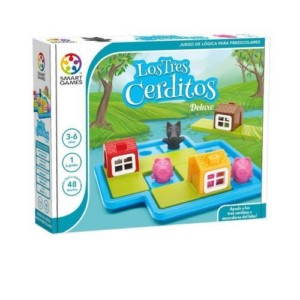 SMART GAMES: LOS TRES CERDITOS DELUXE