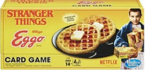 STRANGER THINGS HASBRO JUEGO CARTAS EGGO