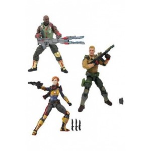 G.I.JOE CLASSIFIED FIGURE 15 CM DISPLAY (6)