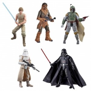 STAR WARS 40TH ANNIVERSARY WAVE 3 FIGURE DISPLAY (5)