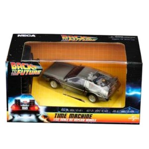NECA BACK TO THE FUTURE DELOREAN CAR RC