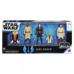 HASBRO STAR WARS CELEBRATE JEDI BOX