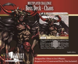 FINAL FANTASY TCG PACK MULTIPLAYER BOSS DECK CHAOS