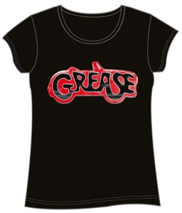 T-SHIRT GIRLY GREASE S