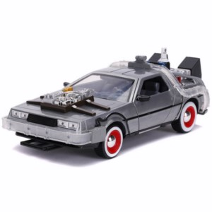 METAL REPLICA CAR REGRESO AL FUTURO 3 DELOREAN 1:24 7 CM