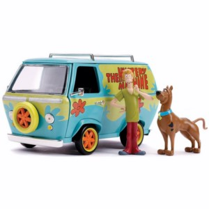 METAL REPLICA CAR SCOOBY DOO FURGONETA SCALE 1:24 7 CM