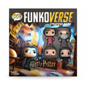 FUNKOVERSE GAME - HARRY POTTER 4 PACK
